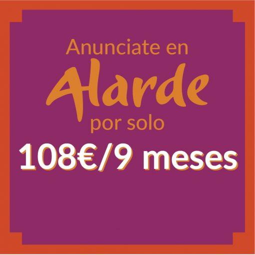 Alarde anuncios-108€ 9meses