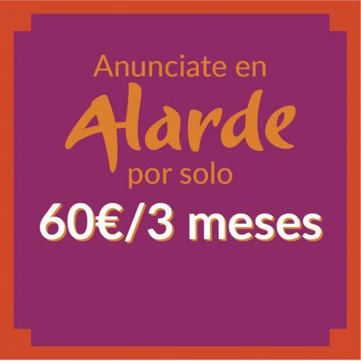 Alarde anuncios-60€-3meses