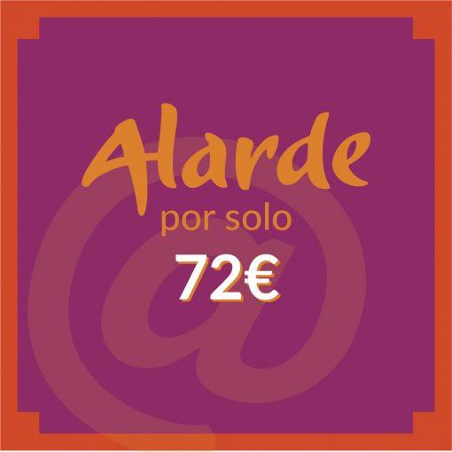 Alarde anuncios-Mailing 72€