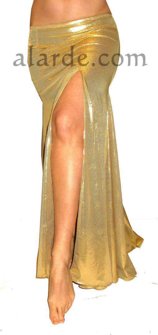 falda-sirena-dorada