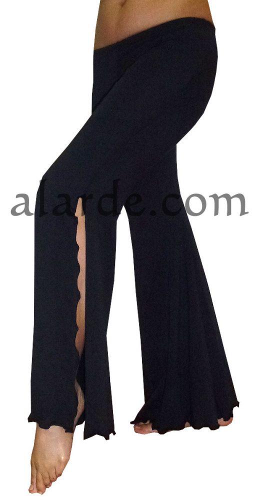 Pantalón-de-algodón-con-campana2-