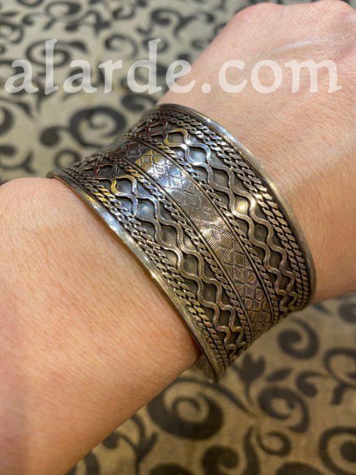 brazalete-egipcio-plata-ancho-2