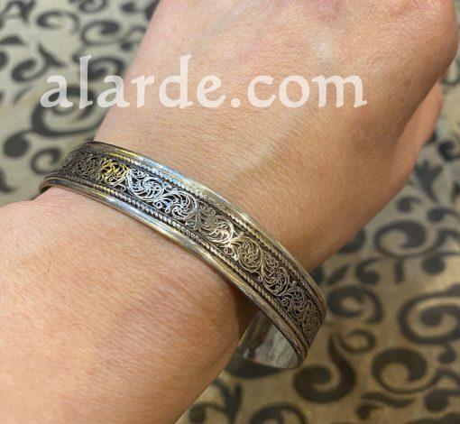 brazalete-egipcio-plata-arabe-2