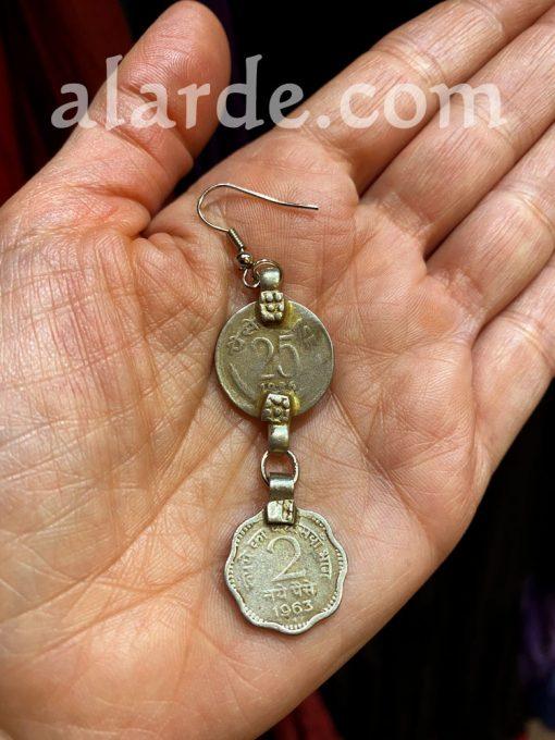 pendientes-monedas-antiguas-tribal